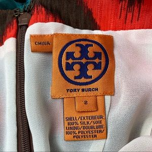 Tory Burch Tops - Tory Burch Silk halter top embroidered medallions